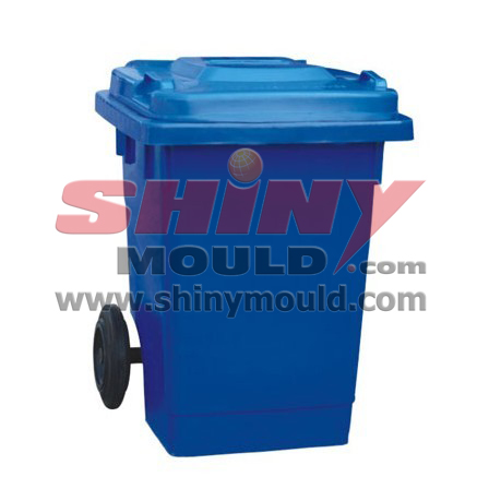 100l bin mould, plastic garbage can mould