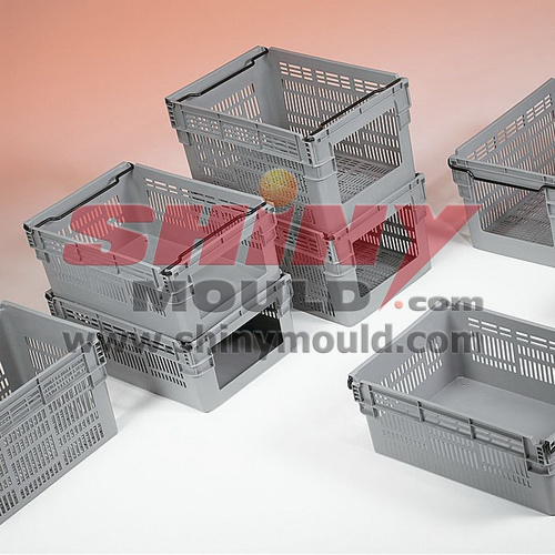 folding crate mould, foldable crate mould