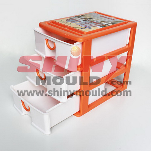 3 layers drawer mould 340x240x320mm
