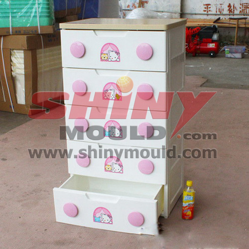 plastic drawer mould 04